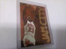 1995-96 Michael Jordan Hot Packs Fleer Ultra Jam City FOIL INSERT #3 of 12