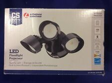 Lithonia Lighting 3-Head Security LED FloodLight 264TMA Lamps Dusk To Dawn T-4
