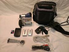 Sony Dv8500 Mini Digital Video Camcorder w/ Case Accessories (Working)