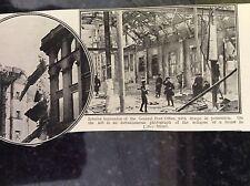 m17c5 ephemera ww1 picture irish rebellion easter rising 1916 post office ruins