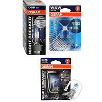 Set Osram Night Breaker Unlimited Xenarc D2S W5W H3