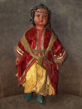 """Vintage poupée SNF celluloïd poupée Société Nobel France Indian Costume 1930 S 15"""""""