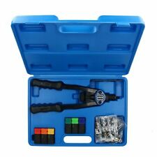 Hand Nut Riveter Riveting Kit Tool Nut Sert Tool Fastener M3 - M10 and 60 Rivets