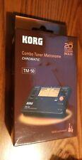 *New In Box* Korg Combo Tuner Metronome Chromatic Tm-50 multi-instrument