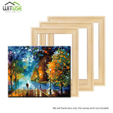 Canvas Prints Frame Stretcher Bar Oil Painting DIY Assembly Wooden Strip Kit 4F
