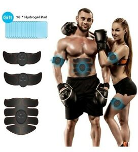 JuYue ABS Trainer Muscle Stimulator, EMS Muscle Stimulator for Leg And Ab Toner,