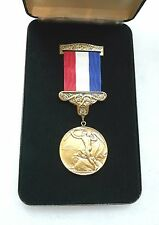 Agency, Dept, Presidential Medal for Lifesaving on the Railroads w/ issue case