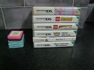 EMPTY NINTENDO DS GAME BOXES.