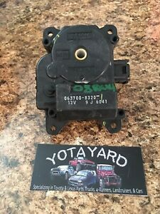 2011 Scion Tc Oem Ac Blend Motor Flap Actuator Used 063700-8320 YOTAYARD