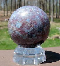 Ruby & Kyanite Crystal Ball / Sphere