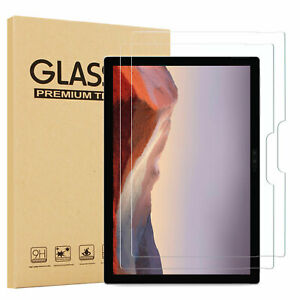 "(2 Pack)Microsoft Surface Pro 7 12.3"" 2019 Clear Tempered Glass Screen Protector"