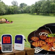 ThermoPro Digital Wireless Remote Smoker Oven Grill Meat BBQ Thermometer Timer