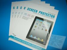 5 x Clear Screen Protector Guards for iPad 3 (2012)