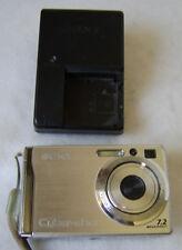 Canon Cyber Shot 7.2 mega pixels Camera, Battery, Charger & 1 Gig Memory Chip