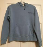 Abercrombie size M blue long sleeve hoodie sweatshirt women's