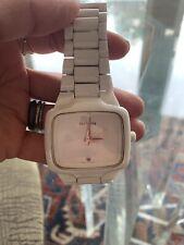 Nixon The Ceramic Player White Self-Winding Wrist Watch