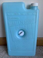 Rubbermaid Gott Refreeze Beverage Bottle Ice Pack #8281 Screw In 11x6 USA Vtg