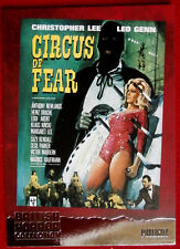BRITISH HORROR - FOIL Card F17 - CHRISTOPHER LEE - CIRCUS OF FEAR