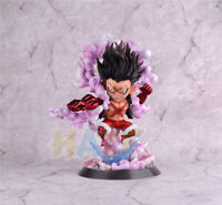 "One Piece Luffy Gear 4 Snake Man Q Ver. 10"" Action Figure Model Toy New In Box"
