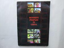 MINORITY PEOPLES IN CHINA Xin Jiguang 1987 Paperback