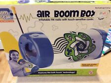 New Kids Gift Room Gear Air Boom Box Inflatable Fm Radio Touch Sensitive Control