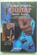 Learn to play Rock guitar with Ralph Paul's Guitar Made Easy (2 DVD set)