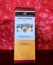 """BAG IN BOX Barbera 5lt  """"vino rosso Il bric""""- Cascina San Siro"""