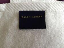 "Ralph Lauren White Bath Towel 50"" X  27"""