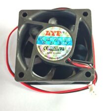 Cooling Fan 60mm x 60mm x 25mm 12V 0.25A  2 pin LYF - Aussie Seller