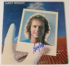 """Gary Wright SPOOKY TOOTH Signed Autograph """"Touch And Gone"""" Album Vinyl LP"""
