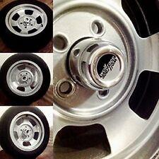 Wolfrace Slot Mag Wheel Centre Caps x 4 - Scimitar GTE TVR M  - 80mm.