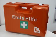 Betriebs Verbandkasten Erste Hilfe Koffer DIN 13157 Verbandkoffer orange 620139D