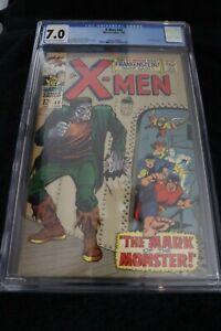 XMen Graded #40 CGC 7.0 Silver Age Origin of Cyclops George Tuska Cover and Art