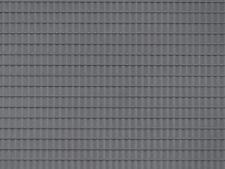 Auhagen kit 52226 NEW HO PLASTIC SHEET 200X100MM   (2) GREY ROOF TILE
