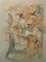 Christian Roos Wilhelmshaven Aquarell unsigniert O-152