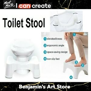 "AU 8.5"" SIT AND SQUAT SQUATTY POTTY ECO TOILET STOOL NON-SLIP HEALTHY COLON"