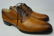 To Boot New York Salinger Wingtip Men's Cuoio Brown Leather Shoes Size 8.5