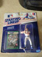 1989 Kenner Starting Lineup Damon Berryhill Figure & Card NEW SLU Cubs Baseball