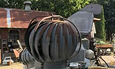 Antique Galvanized Metal Barn Roof Architectural Industrial Air Vent Steampunk