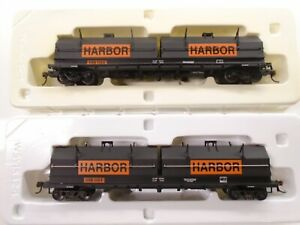 Walthers Ho Coil Cover cars(2), Indiana Harbor Belt