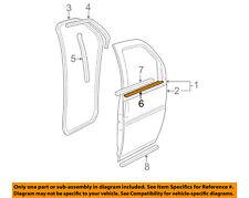GM OEM Front Door-Belt Weatherstrip Weather Strip Seal Right 15753758