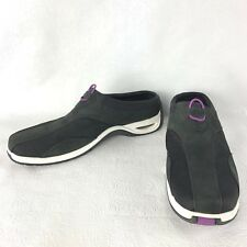 COLE HAAN Womens 10 M B Medium Black Slip on Shoes Mules Stretch