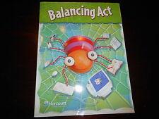 Harcourt workbook: Balancing Act Grade 2 homeschooling  Reading comprehension