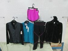 5 ATHLETIC CLOTHES EVERLAST TOP HOODIE PANTS SHORTS FLEECE MD MEDIUM WOMEN LOT