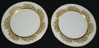 "Lenox Oxford USA Golden Dawn 2 Bread Plate 6 1/2"" -Bone China"