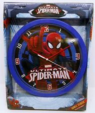 Official SPIDERMAN Wall Clock Spider-Man BRAND NEW Gift Set