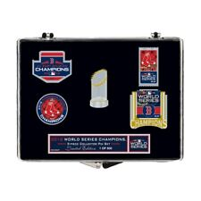 BOSTON RED SOX 2018 WORLD SERIES CHAMPIONS FIVE PIECE COLLECTOR PIN SET IN STOCK