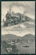 Como Città Saluti a Grande Velocità Treno cartolina QK3070