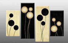 Black Abstract Abstract Art Prints
