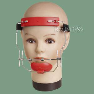 UK 1 Kit Dental Orthodontic Reverse-Pull Headgear Adjustable Red Color